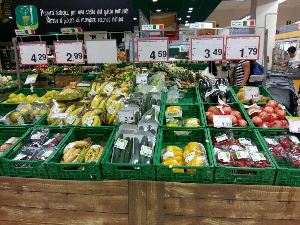 imballaggi di plastica - supermercato