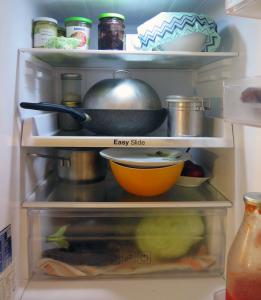 frigorifero senza plastica