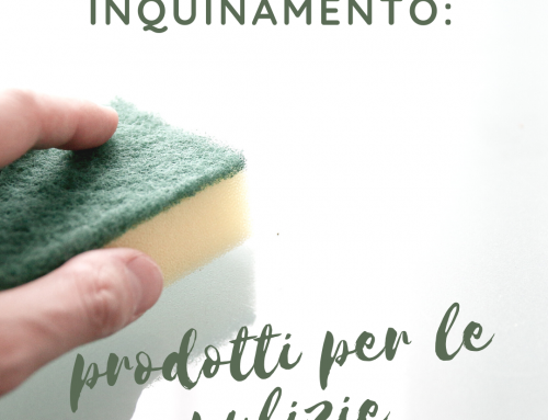 Inquinamento: i detersivi e i detergenti