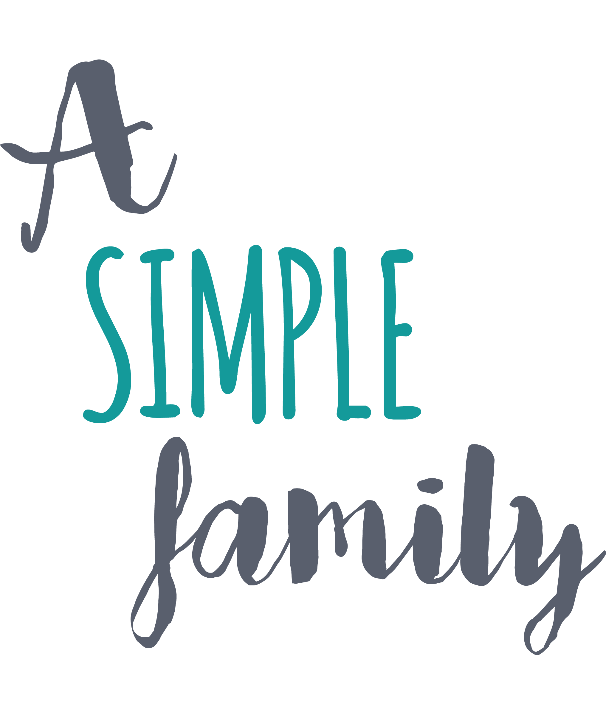 A simple family Logo