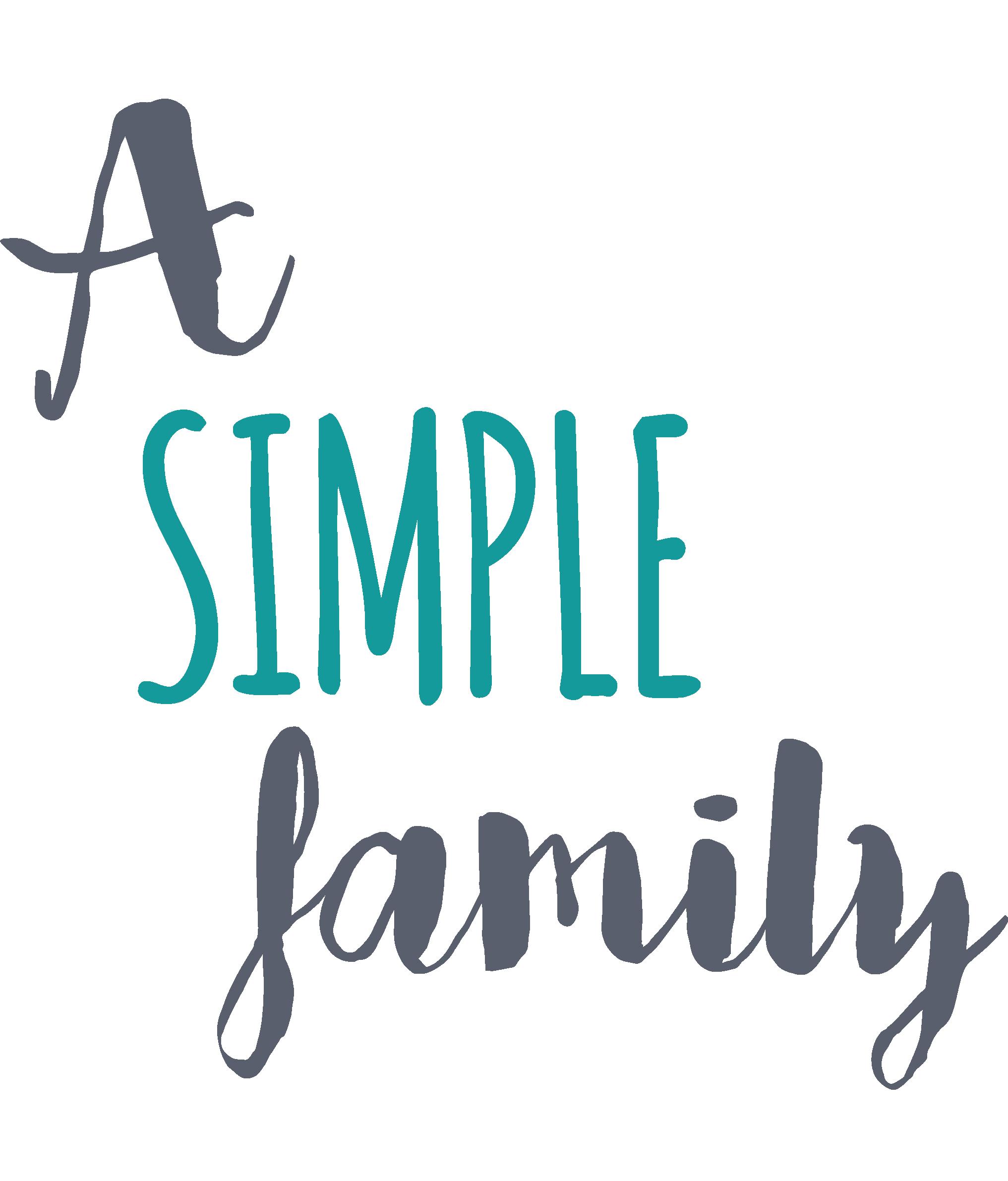 A simple family Logo