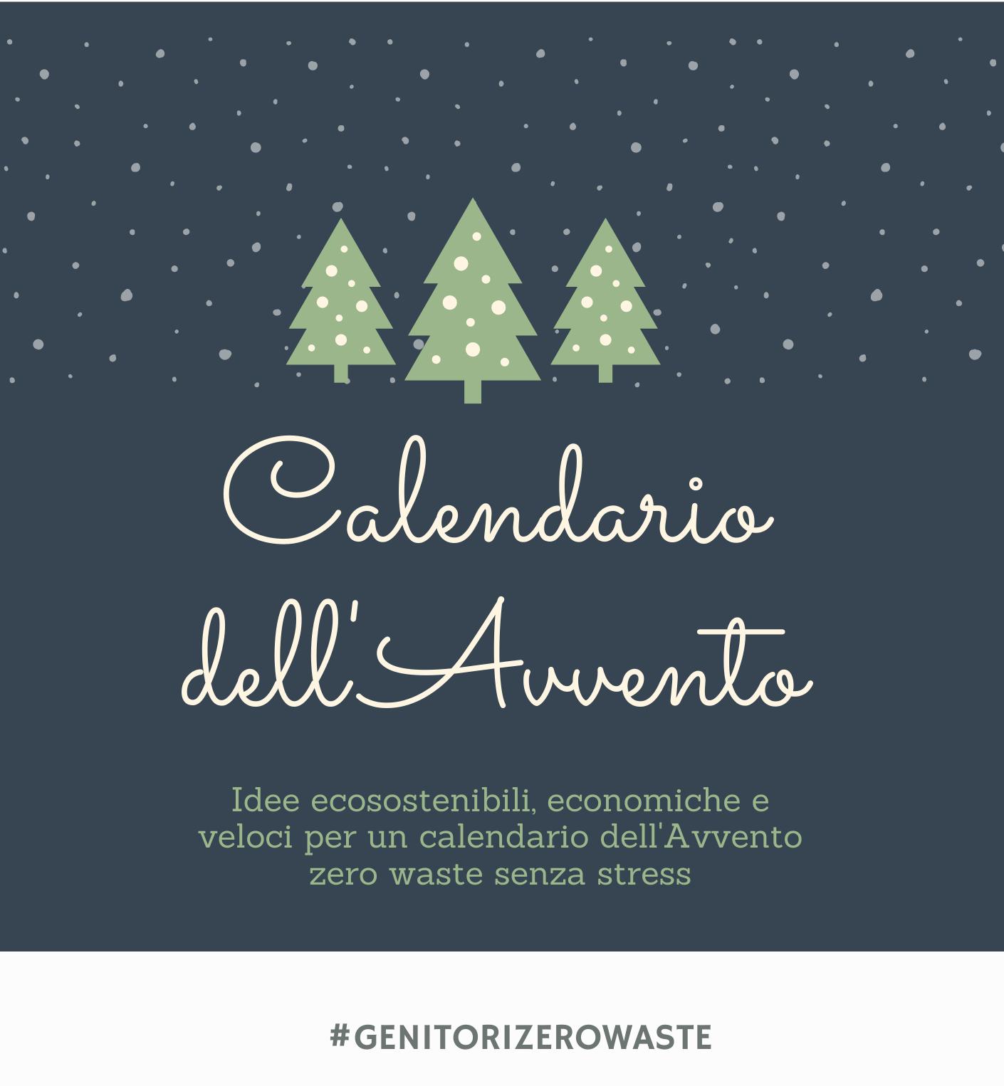 Calendari dell'Avvento sostenibili