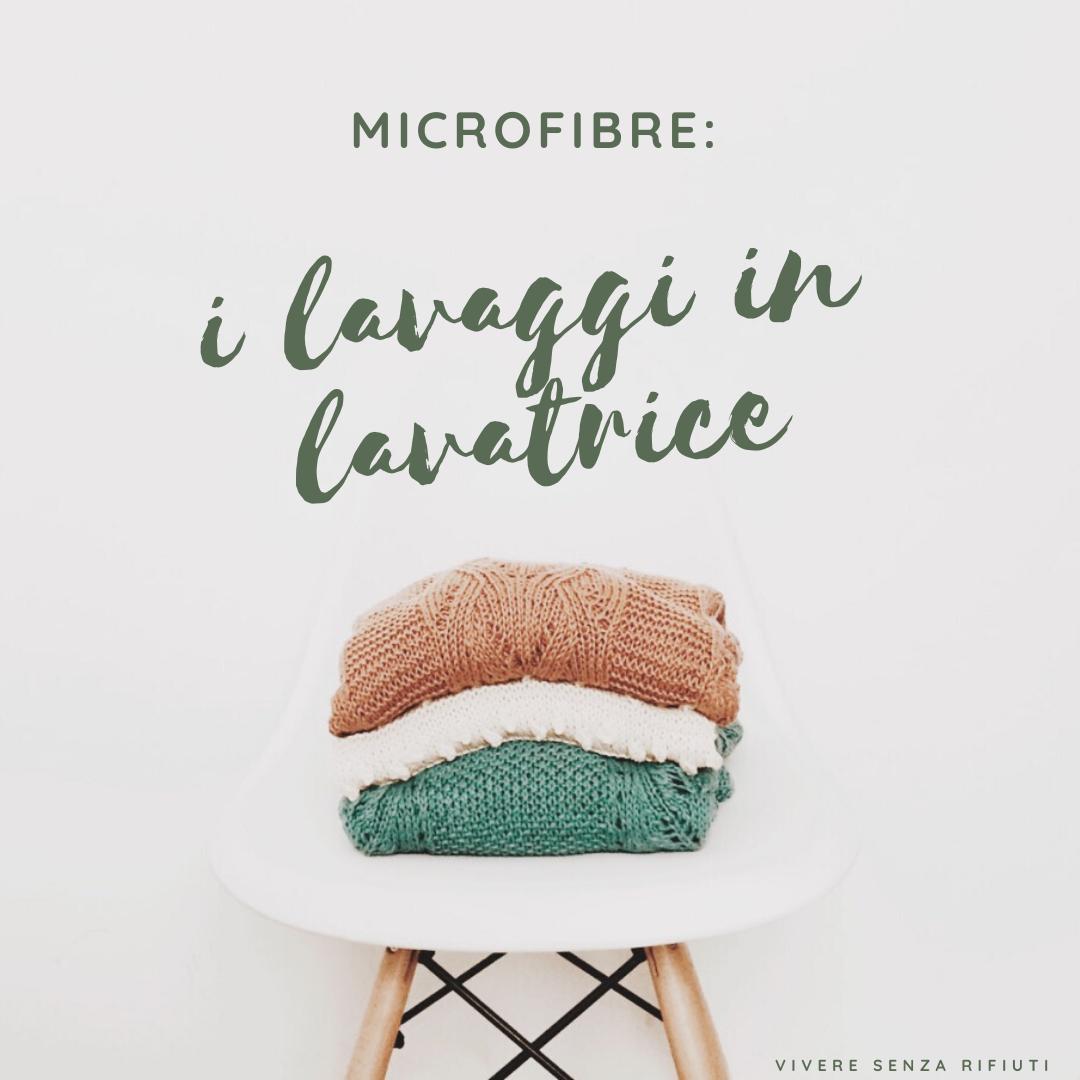 Microplastiche: il contributo dei lavaggi in lavatrice